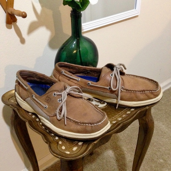 a52b85968 Leather Top Shoes Poshmark Boat Sider Tan Mens 9 Sperry Size 4RqafxXx